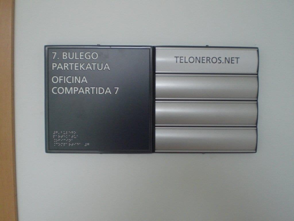 Rotulación braille