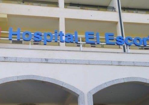 Rótulo corpóreo luminoso para el hospital El Escorial