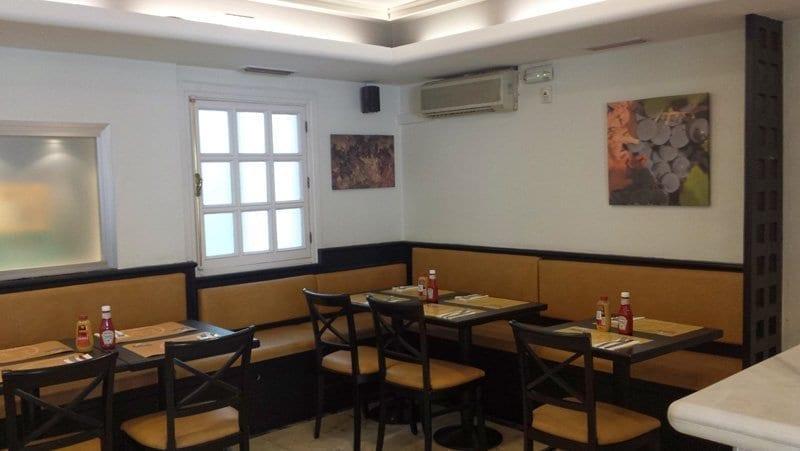 Rótulos sin luz para restaurantes