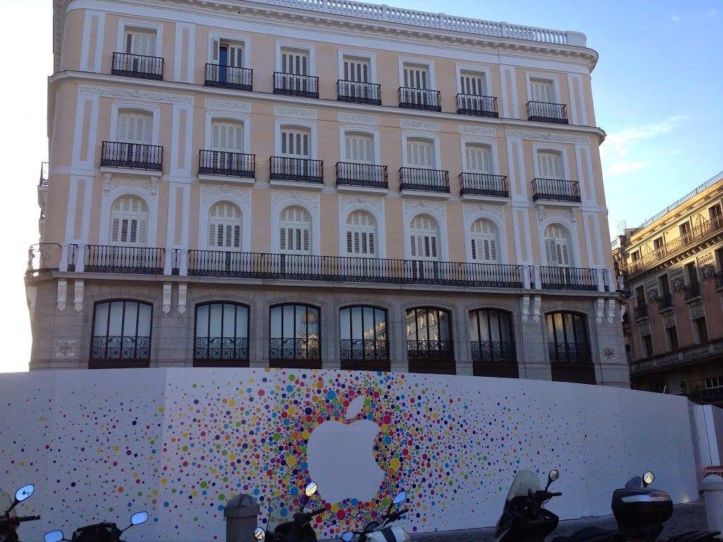 Rotulacion De Eventos Apple Store Rotulos Xprinta