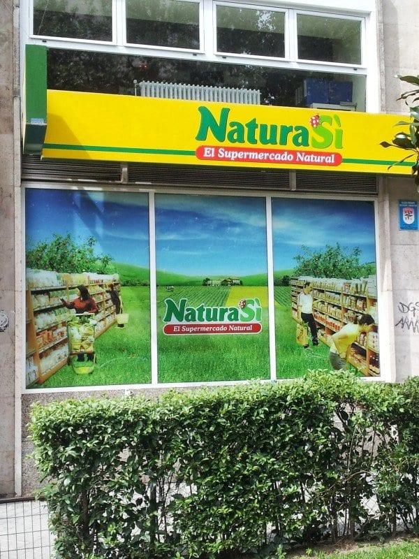 Rotulacion de comercios - NaturaSí