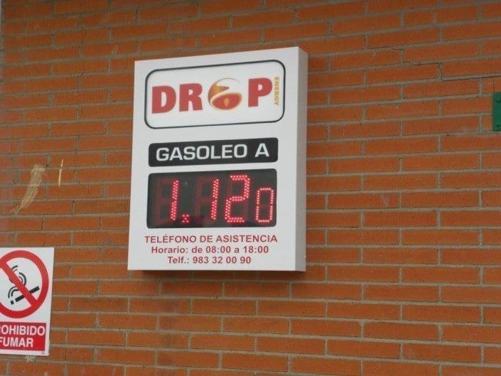 Preciarios gasolinera