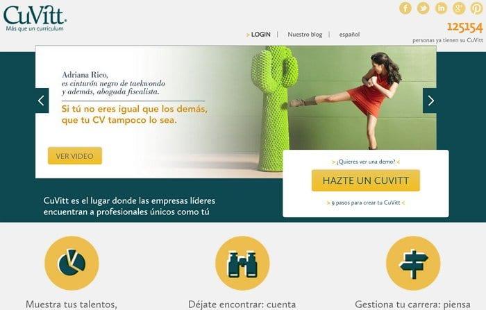 Tu Curriculum Gratis Y Novedoso Con Cuvitt Rotulos Xprinta