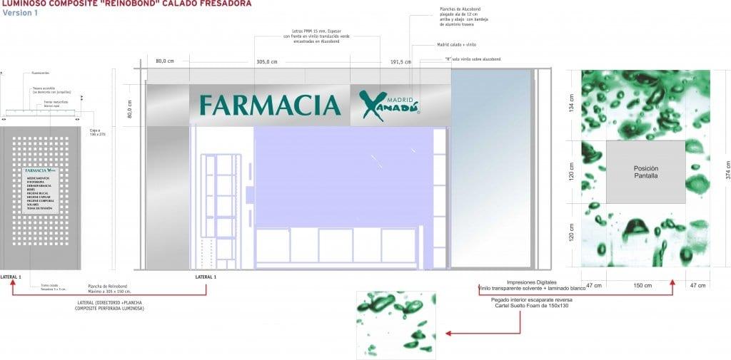 BOCETO 01. FARMACIA XANADU_FACHADA