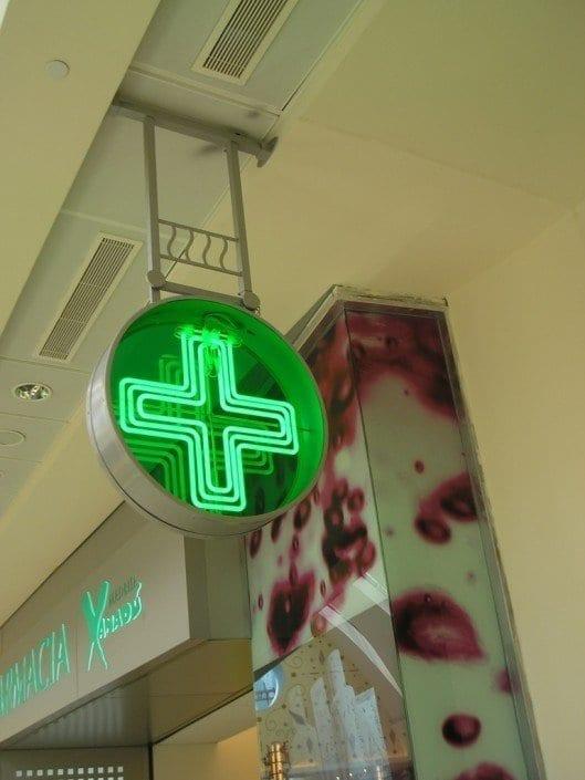 Cruces Led para Farmacias