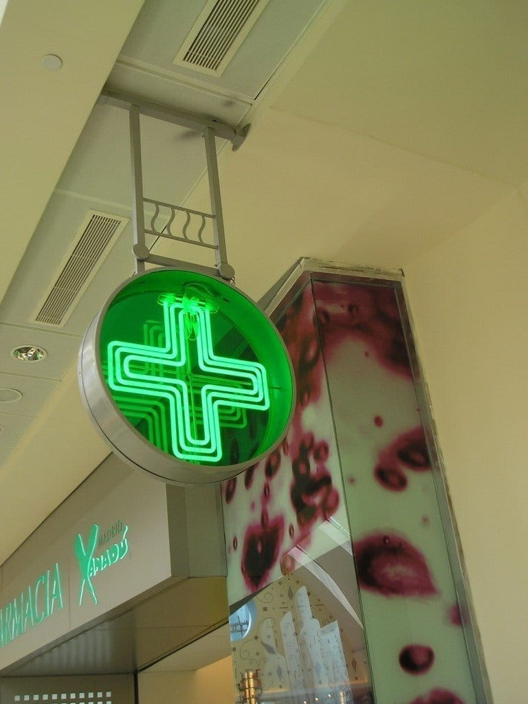 Cruces Led para Farmacias