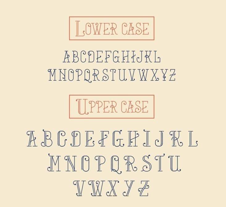 Mercat Barcelona-Tipografía gratuita inspirada en la ciudad condal (2)