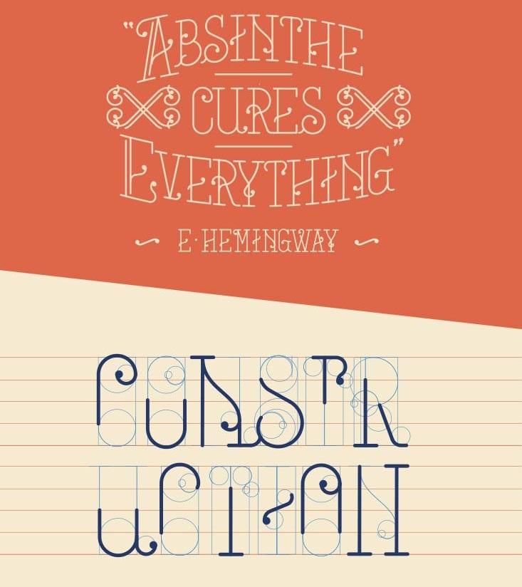 Mercat Barcelona-Tipografía gratuita inspirada en la ciudad condal (3)