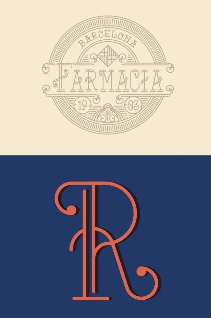 Mercat Barcelona-Tipografía gratuita inspirada en la ciudad condal (4)