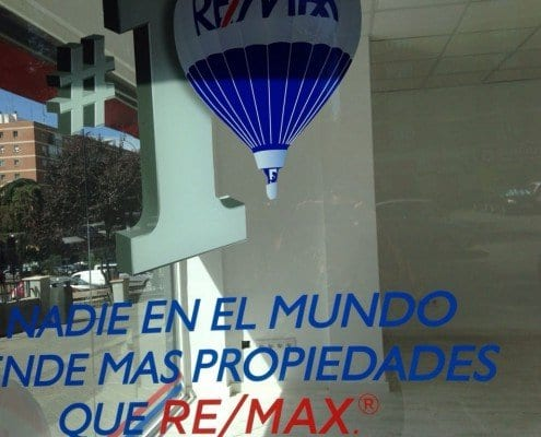 ROTULACION PARA INMOBILIARIAS - REMAX FORO7