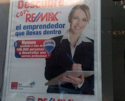 ROTULACION PARA INMOBILIARIAS - REMAX FORO6