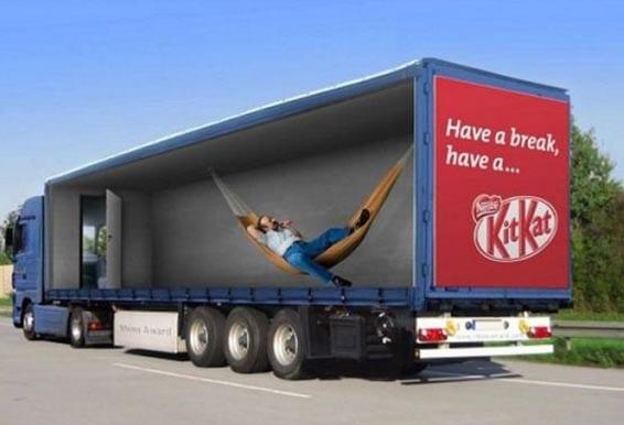 Nuevos ejemplos sorprendentes de publicidad en camiones (4)