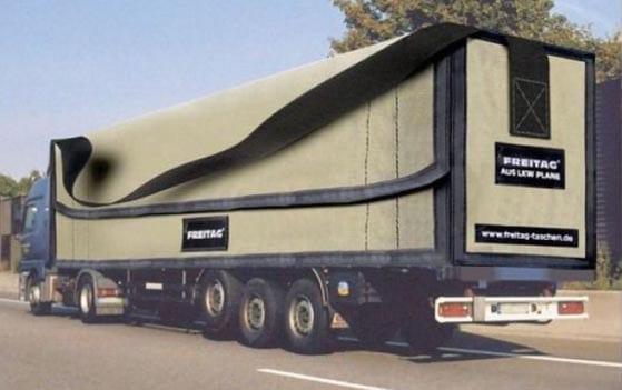 Nuevos ejemplos sorprendentes de publicidad en camiones (6)