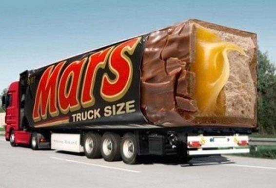 Nuevos ejemplos sorprendentes de publicidad en camiones (8)