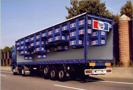 Nuevos ejemplos sorprendentes de publicidad en camiones (9)