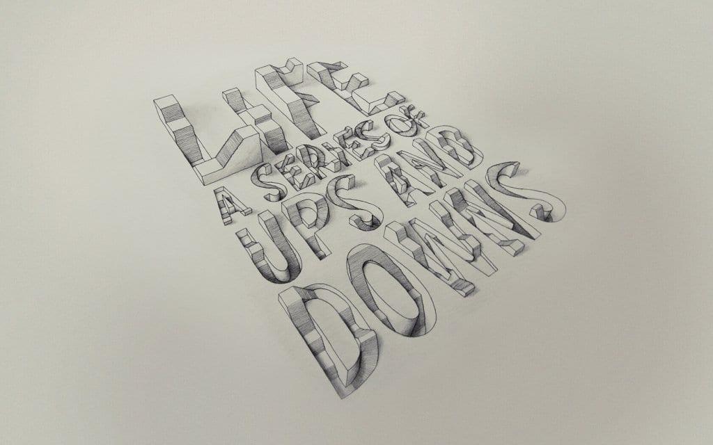 Tipografía en 3D del inglés Lex Wilson (2)