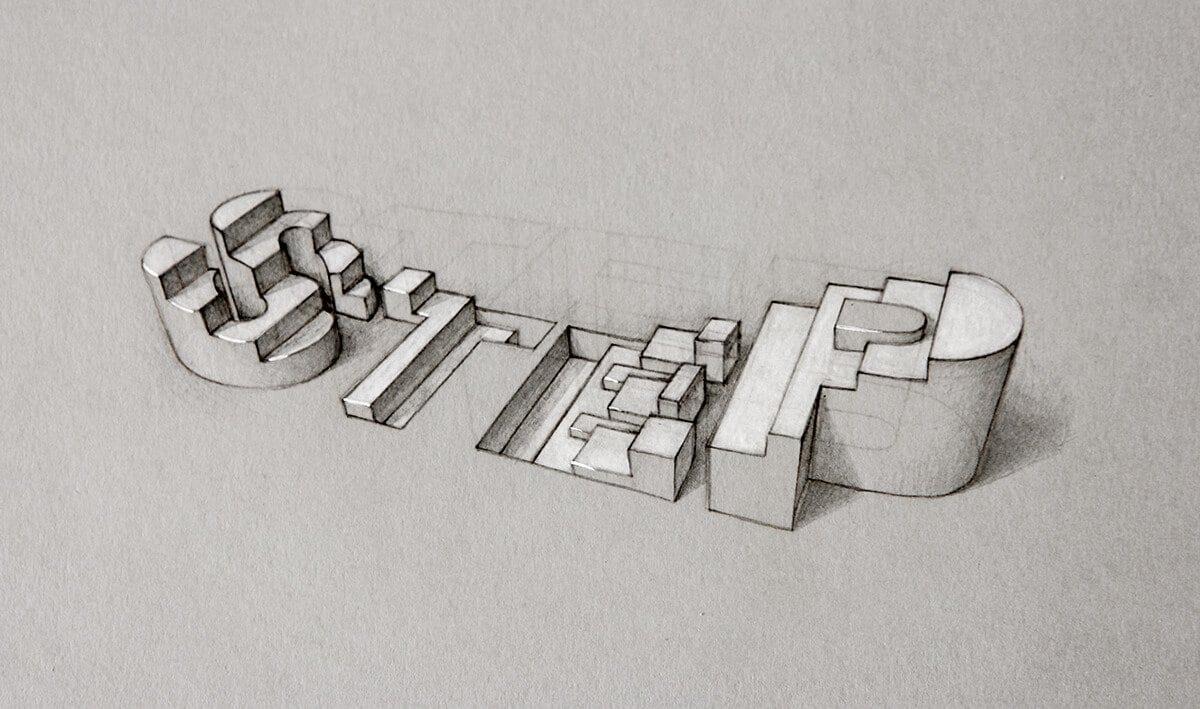 Tipografía en 3D del inglés Lex Wilson (5)