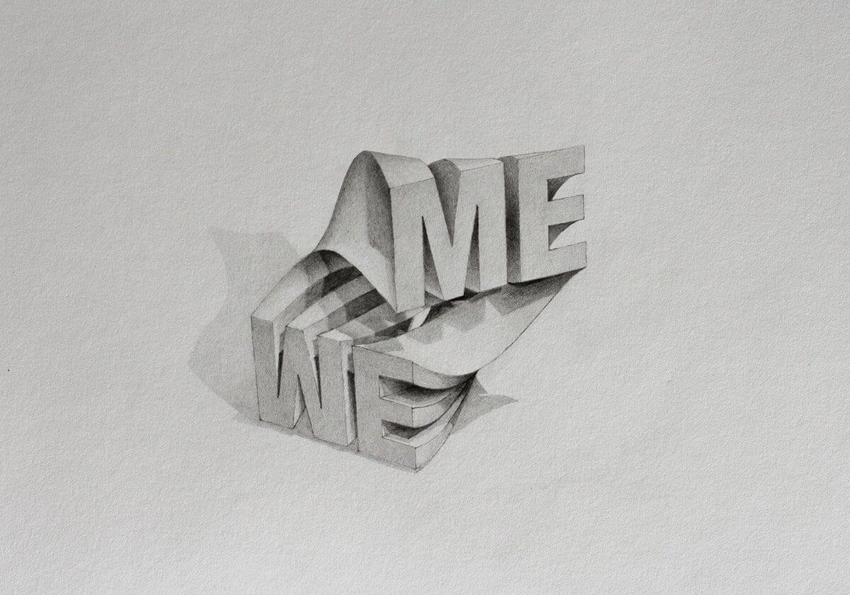 Tipografía en 3D del inglés Lex Wilson (6)