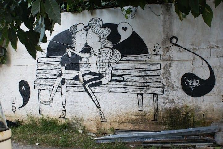 Arte callejero ideal para San Valentín (5)
