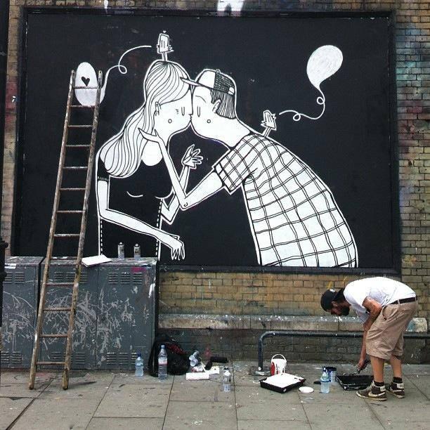 Arte callejero ideal para San Valentín (6)