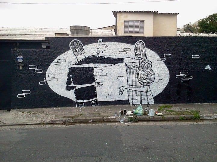 Arte callejero ideal para San Valentín (7)