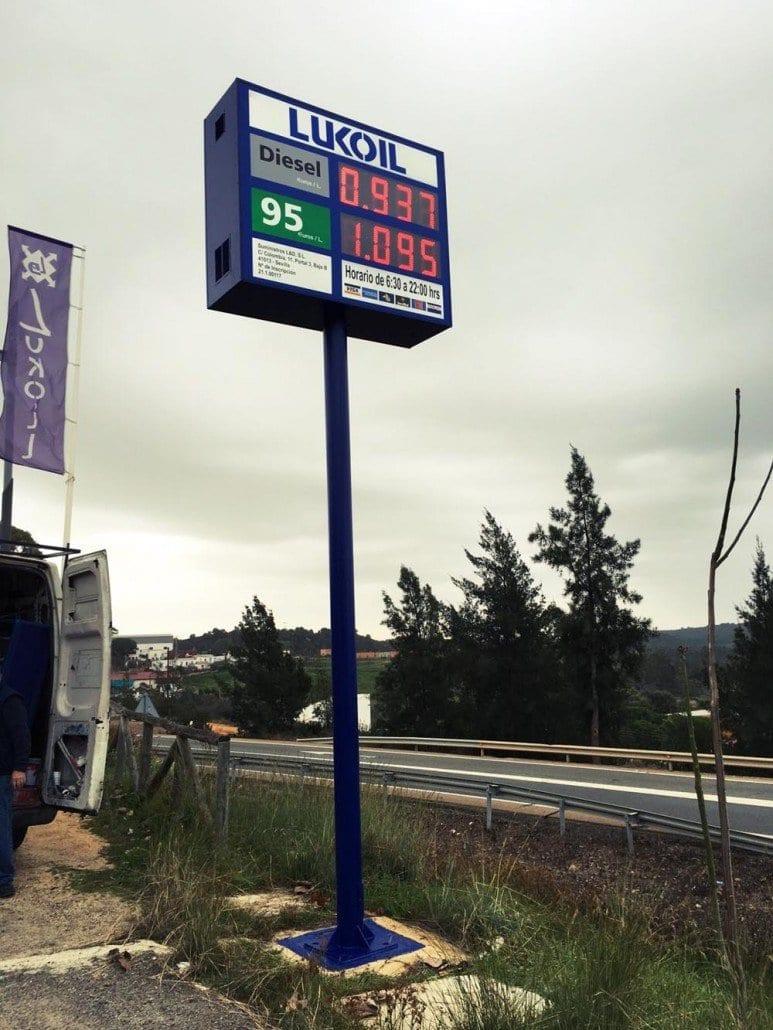 Monoposte-gasolineras