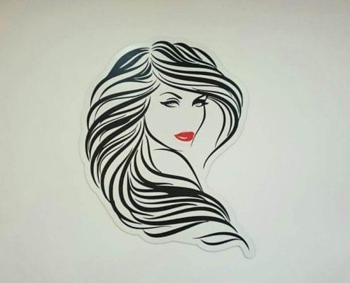 Letras Corporeas para peluquerias - 3