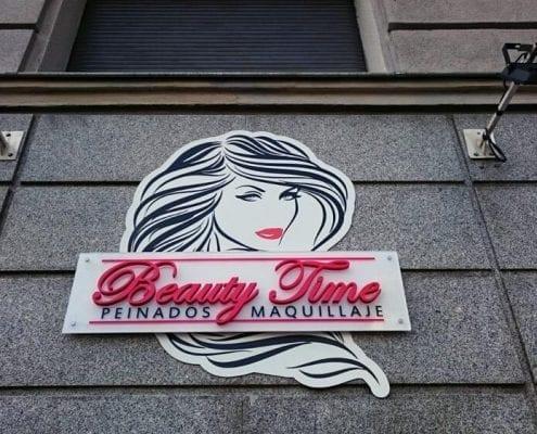 Letras Corporeas para peluquerias - 1