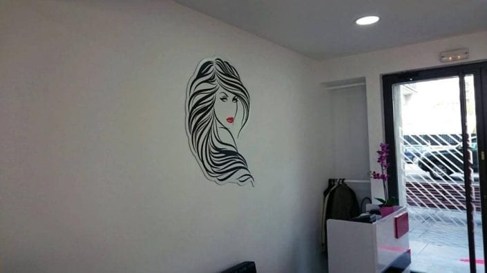 Letras Corporeas para peluquerias - 2