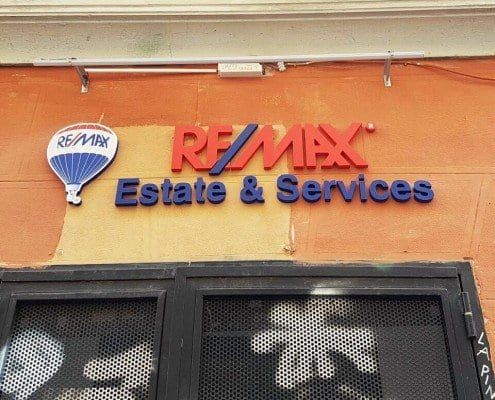 Rotulos según la OPE - Remax Estate & Services