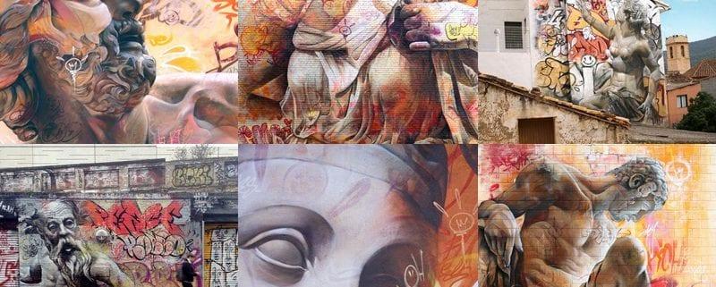 El arte urbano que mezcla lo clásico y lo moderno - Rotulos Xprinta fbd26e5e9ed