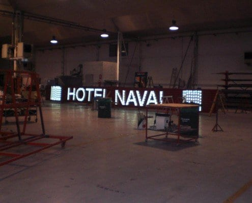 Rotulo para Hoteles