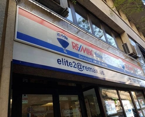 Rotulos iluminacion LED - Remax Elite