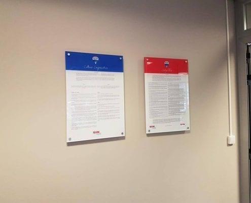 Placas Metacrilato Signum 'Código Ético'
