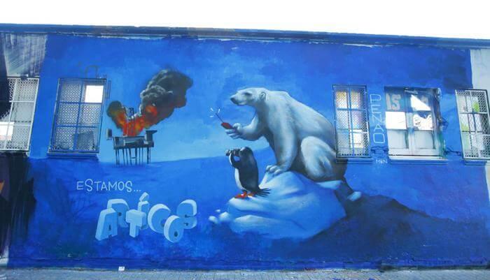 Arte urbano para salvar el ártico