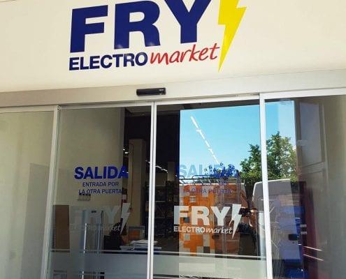 LETRAS CORPÓREAS CON LED - FRY