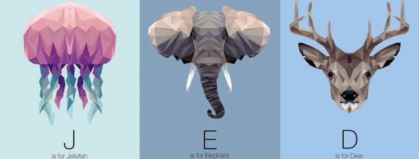 El alfabeto animal de Linn Maria Jensen