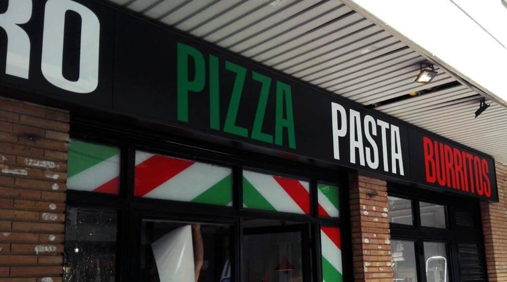 Rotulacion Restaurante: Pomodoro Pizza