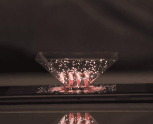 hologramas en publicidad exterior