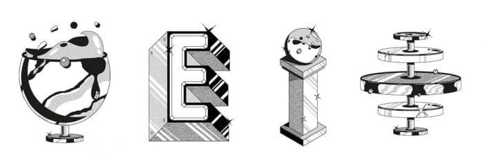 Tipografías surrealistas