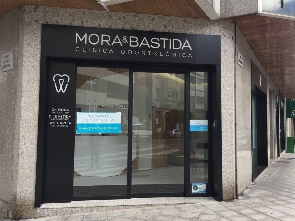 Rotulo para clinicas dentales y forrado modular de fachada - Fachadas clinicas dentales ...