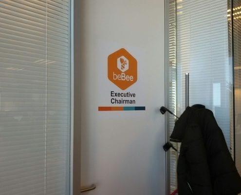 vinilos oficinas madrid