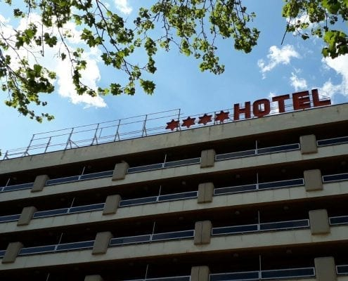 Letreros luminosos para hoteles