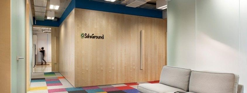 Siteground oficinas Bulgaria