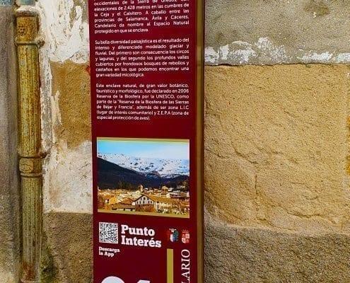 Señaletica - Punto de interés 01Calendario (Salamanca)