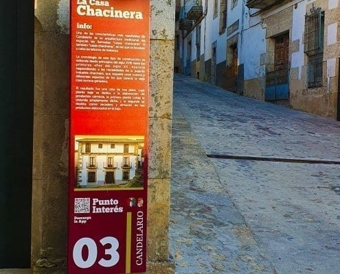 Señaletica - Punto de interés 03Calendario (Salamanca)
