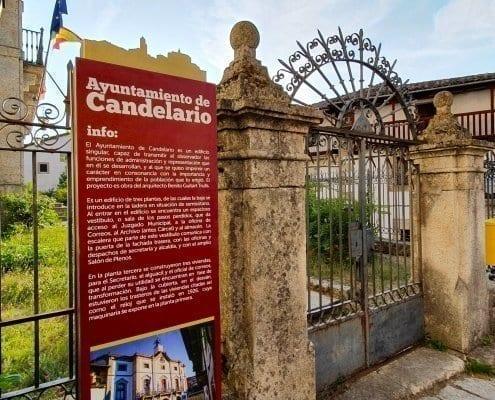 Señaletica - Ayuntamiento de Candelario (Salamanca)
