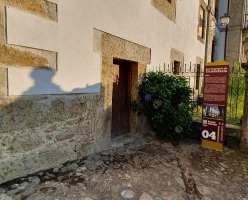 Señaletica - Punto de interés 04 Calendario (Salamanca)