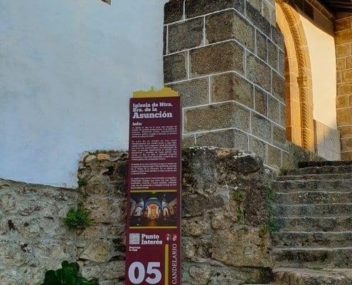 Señaletica - Punto de interés 05 Calendario (Salamanca)