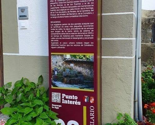 Señaletica - Punto de interés 08 Calendario (Salamanca)